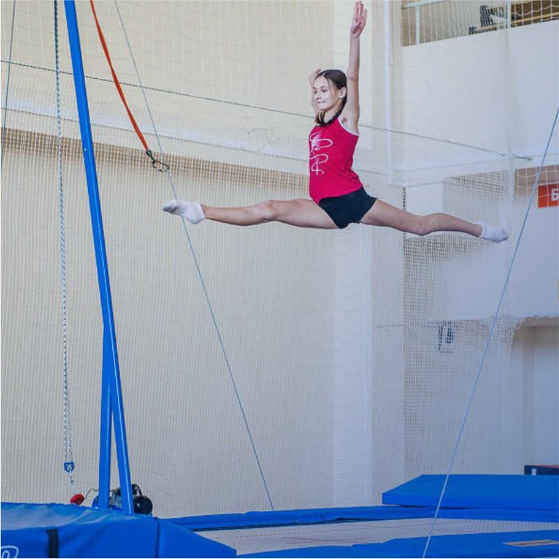 батут гимнастика